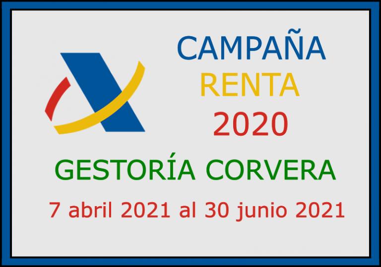 Plazos declaración de la renta 2020 en Asturias